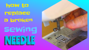 How to Replace Sewing Machine Needle